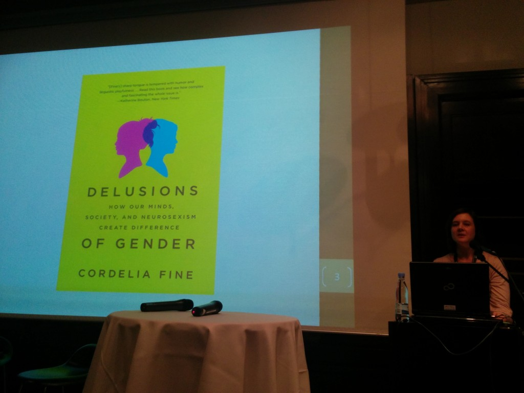 Talk by Cordelia Fine on the delusions of gender - with perspectives to modern neuroscience.